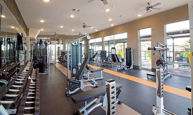 Extensive Fitness Facilities Including Cardio & Weight Room